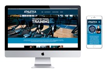 Athletica Fitness Mobile Responsive Website Design
