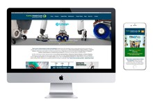 Capital Power Clean Mobile Responsive Website Design