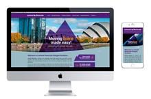 Lomond Removals Mobile Responsive Website Design